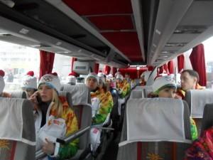 Автобус внутри